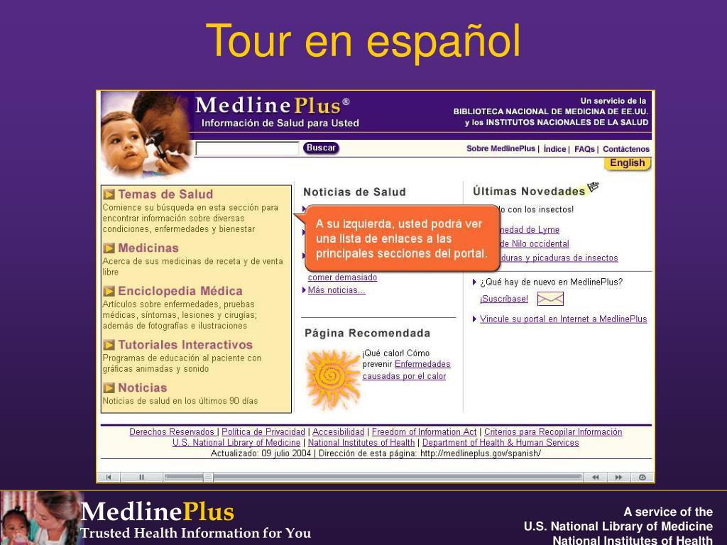 Tour en español