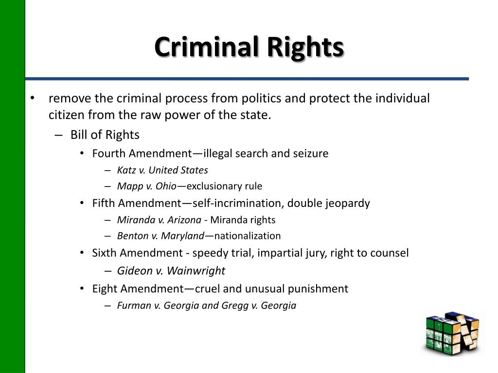 Criminal Rights