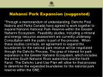 nahanni park expansion suggested