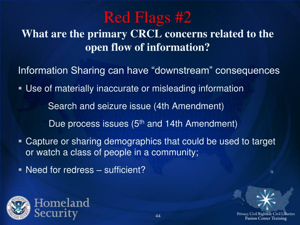 Red Flags #2