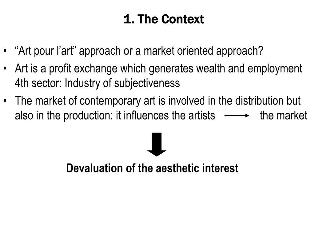 1. The Context