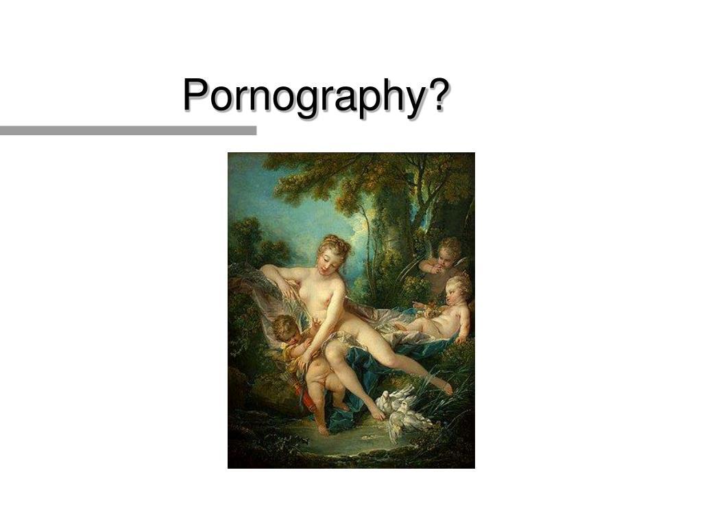 Pornography?
