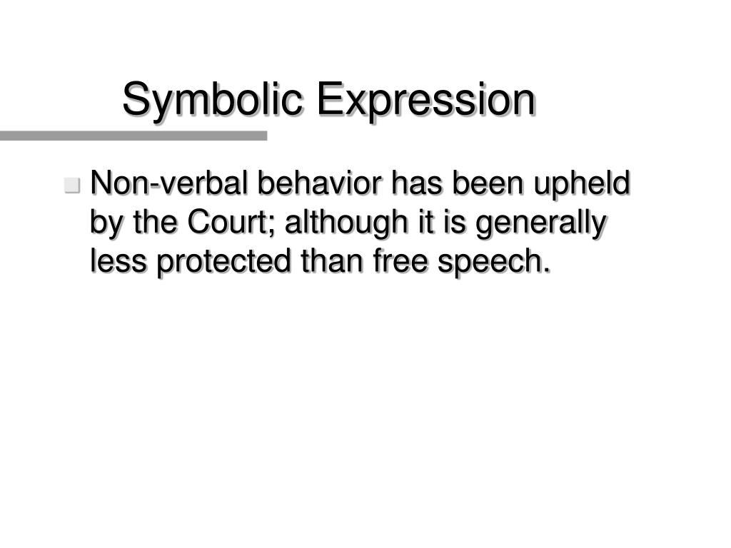 Symbolic Expression