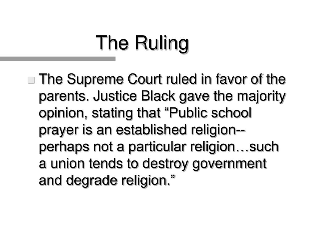 The Ruling