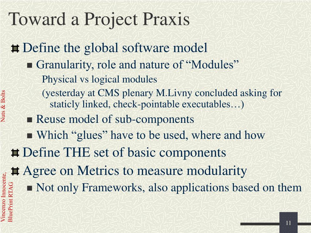 Toward a Project Praxis