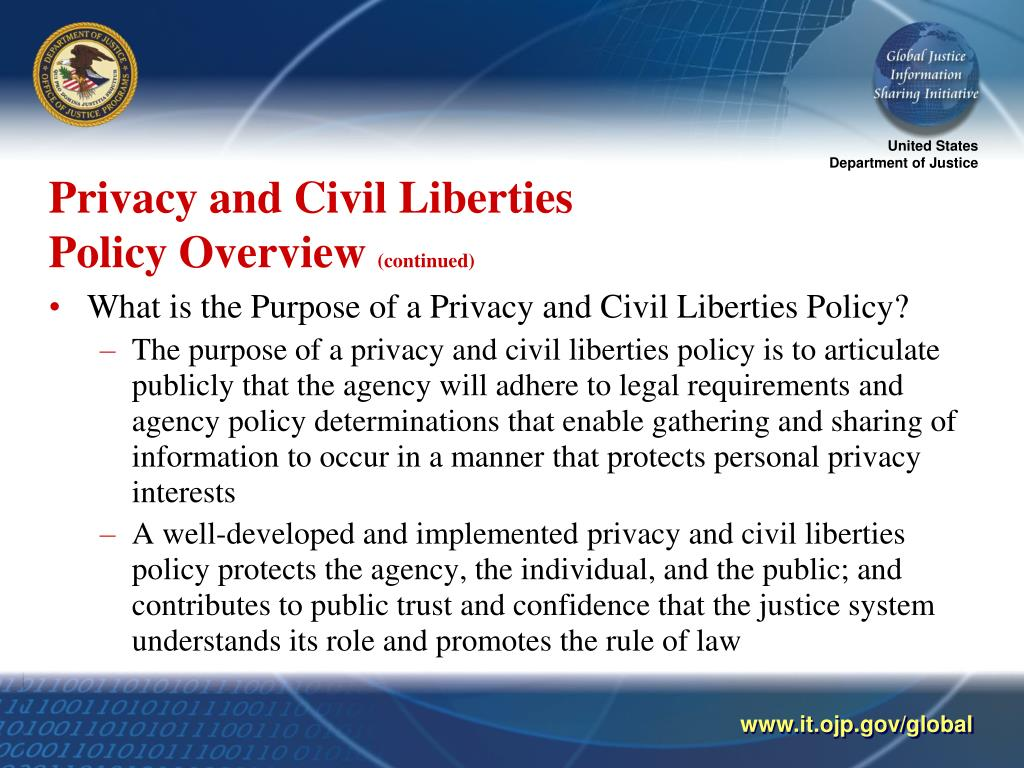 Privacy and Civil Liberties
