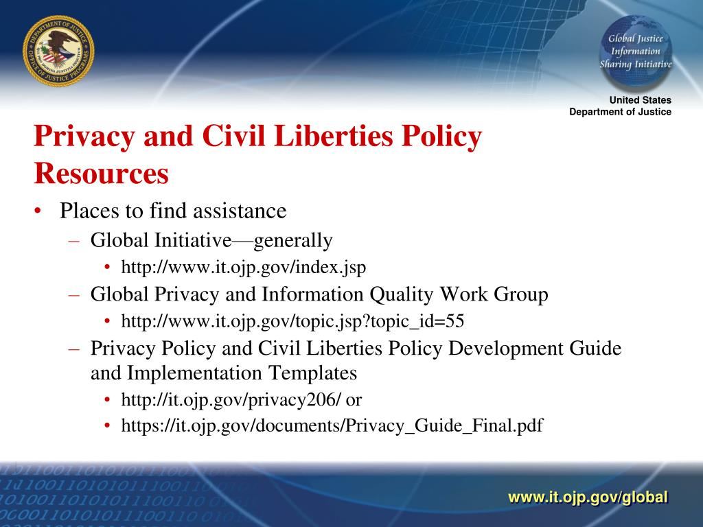 Privacy and Civil Liberties Policy