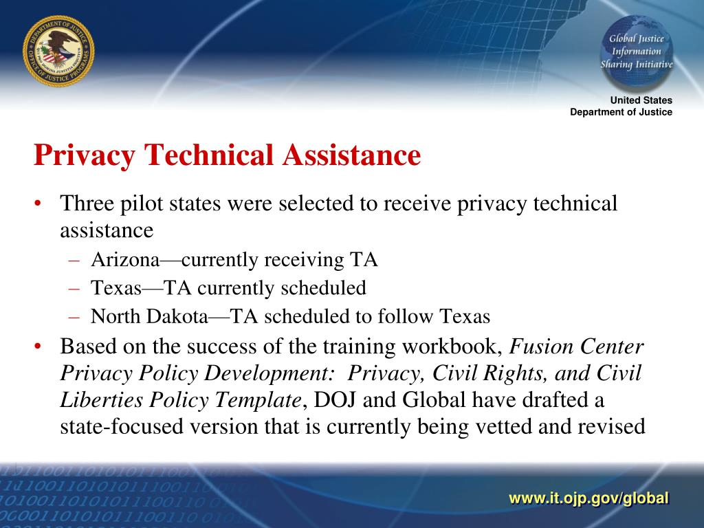 Privacy Technical Assistance
