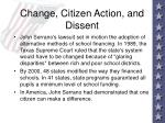 change citizen action and dissent85