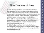 due process of law47