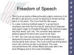 freedom of speech11