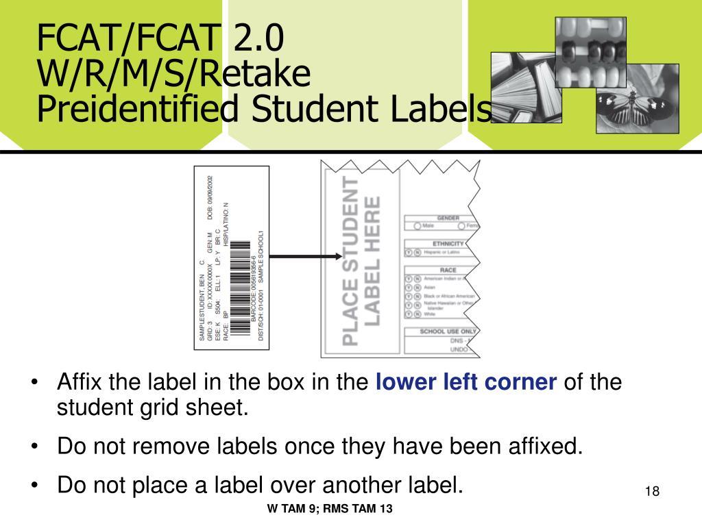 FCAT/FCAT 2.0