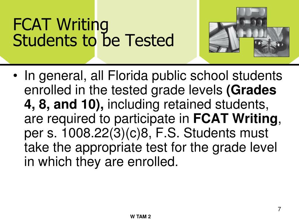 FCAT Writing