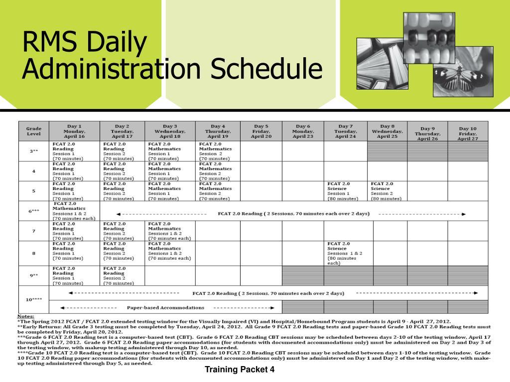 RMS Daily