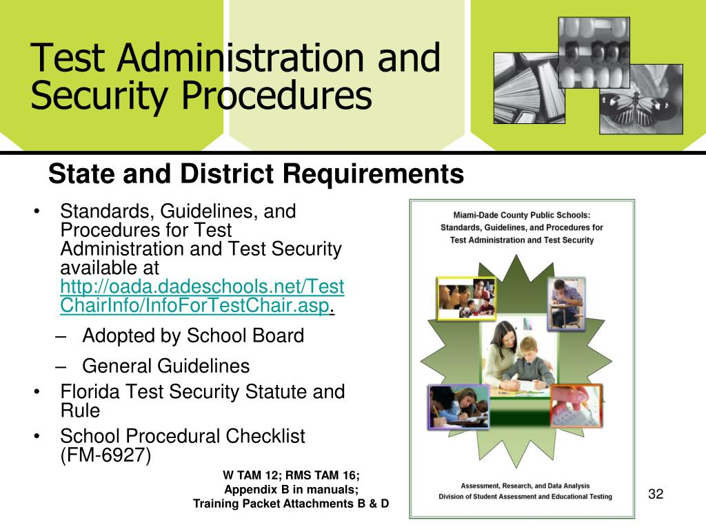 Test Administration and