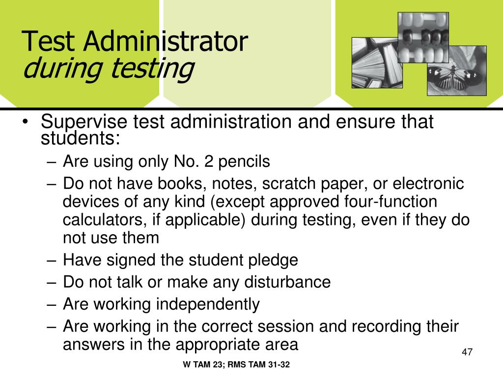 Test Administrator