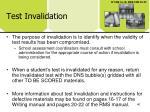 test invalidation40