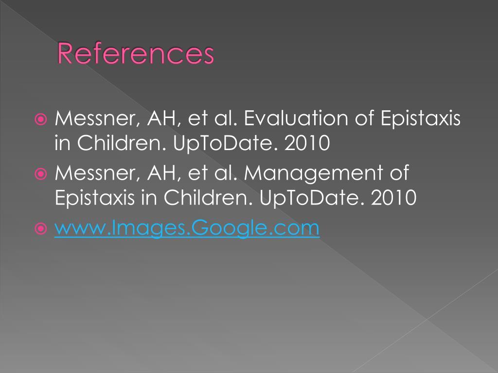 PPT - Epistaxis In Children PowerPoint Presentation - ID:716688