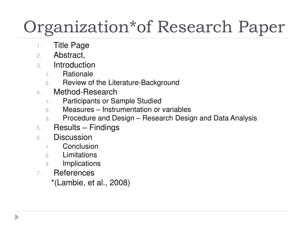 organizational analysis term papers