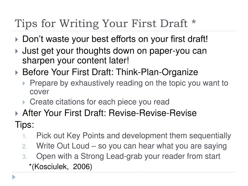 tips for drafting an essay Writing an essay often seems to be a dreaded task among students whether the essay is for a scholarship, a class, or maybe even a contest, many students often find the task overwhelming while an essay is a large project, there are many steps a student can take that will help break down the task into manageable parts.