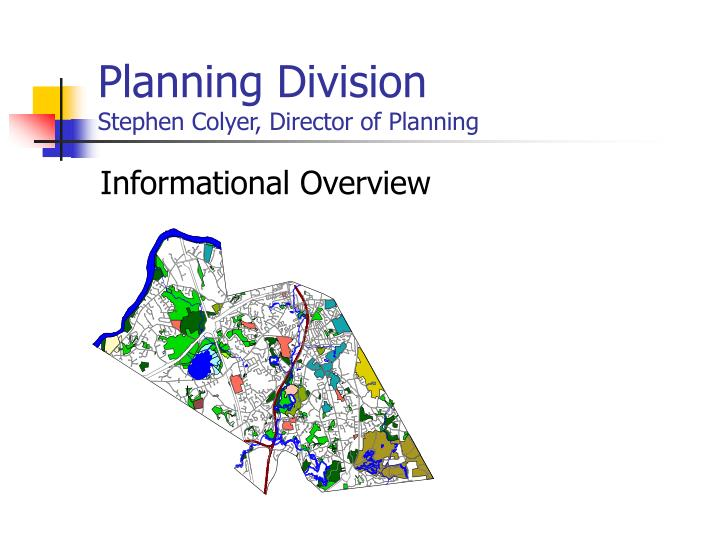 Planning division stephen colyer director of planning l.jpg