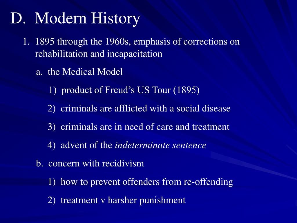 D.  Modern History