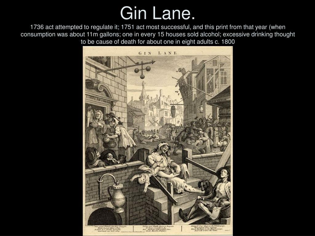 Gin Lane.