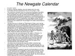 the newgate calendar