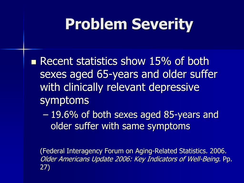 Problem Severity
