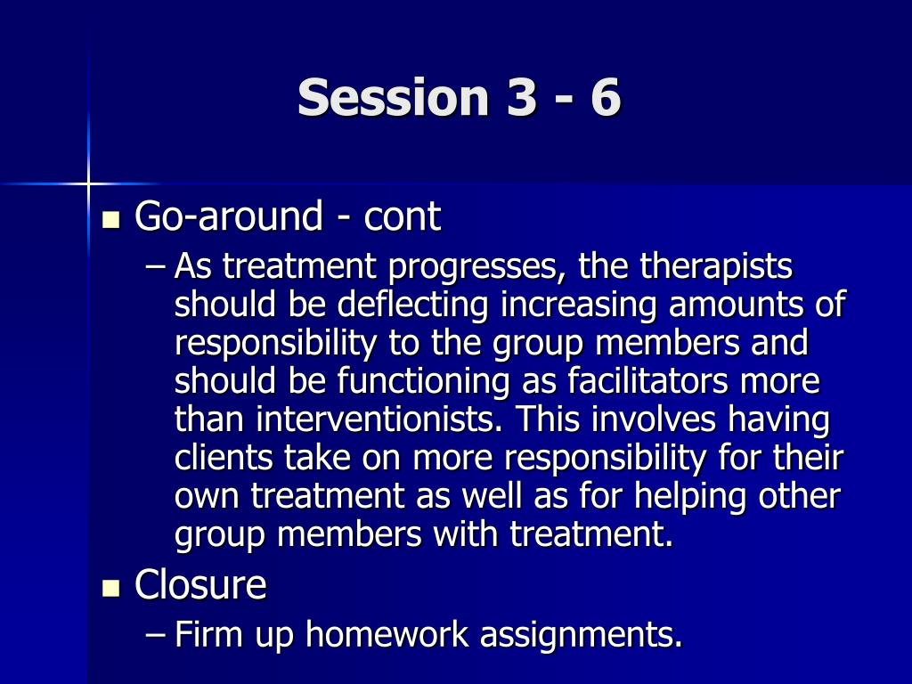 Session 3 - 6