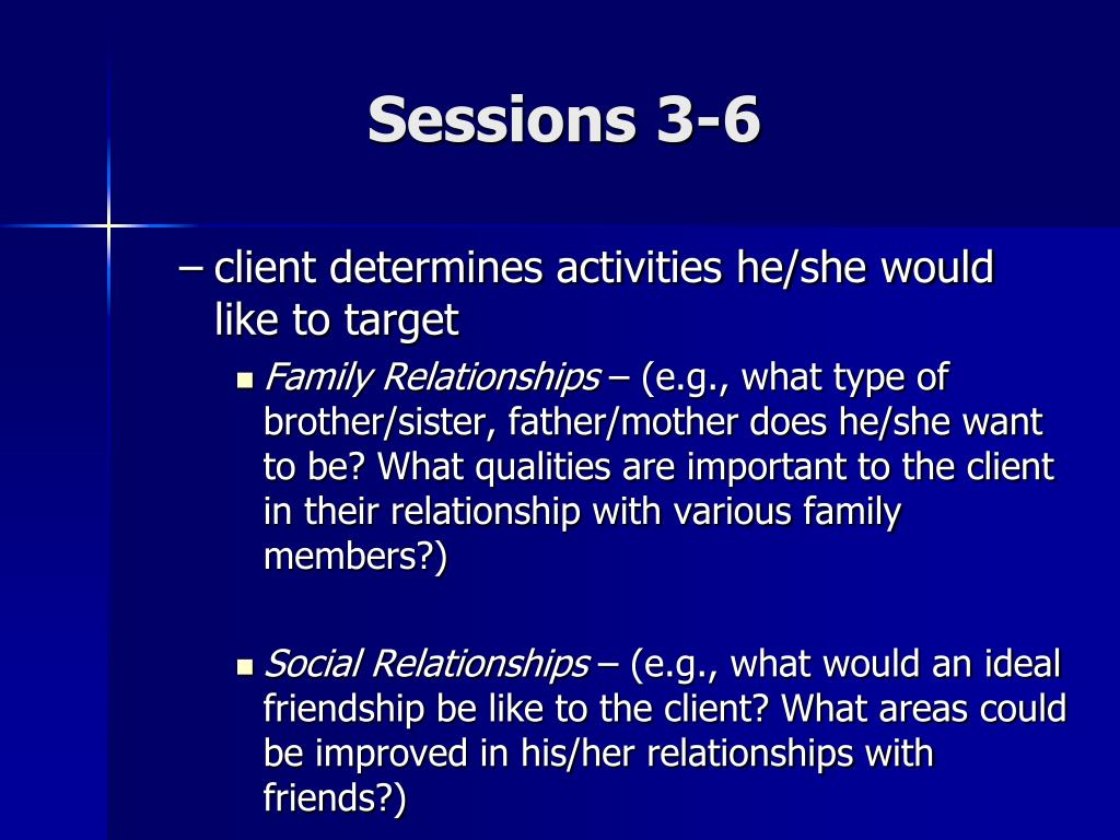 Sessions 3-6