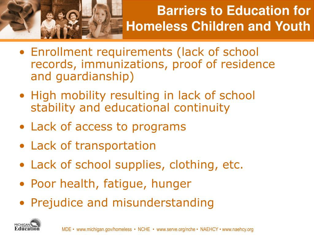 Homeless youth facilitators and barriers
