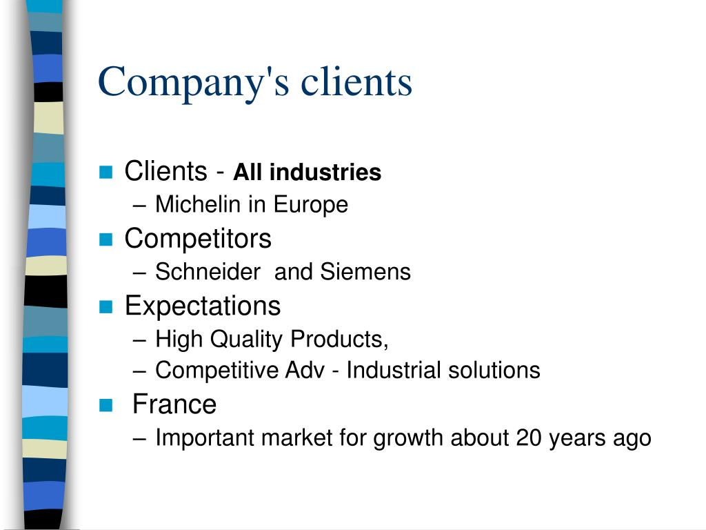 Company's clients