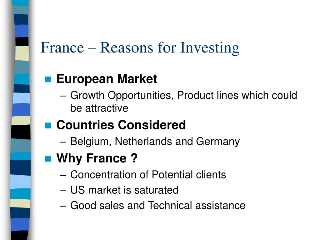 France – Reasons for Investing