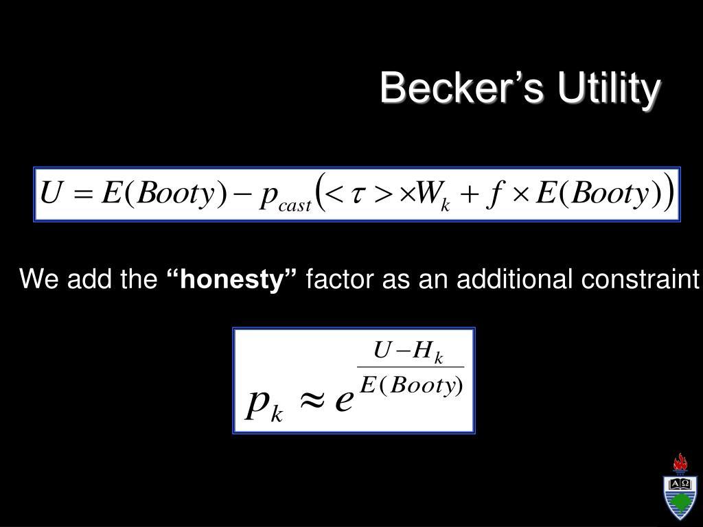 Becker's Utility