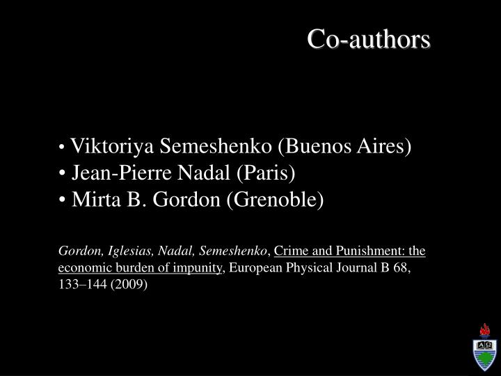 Co-authors