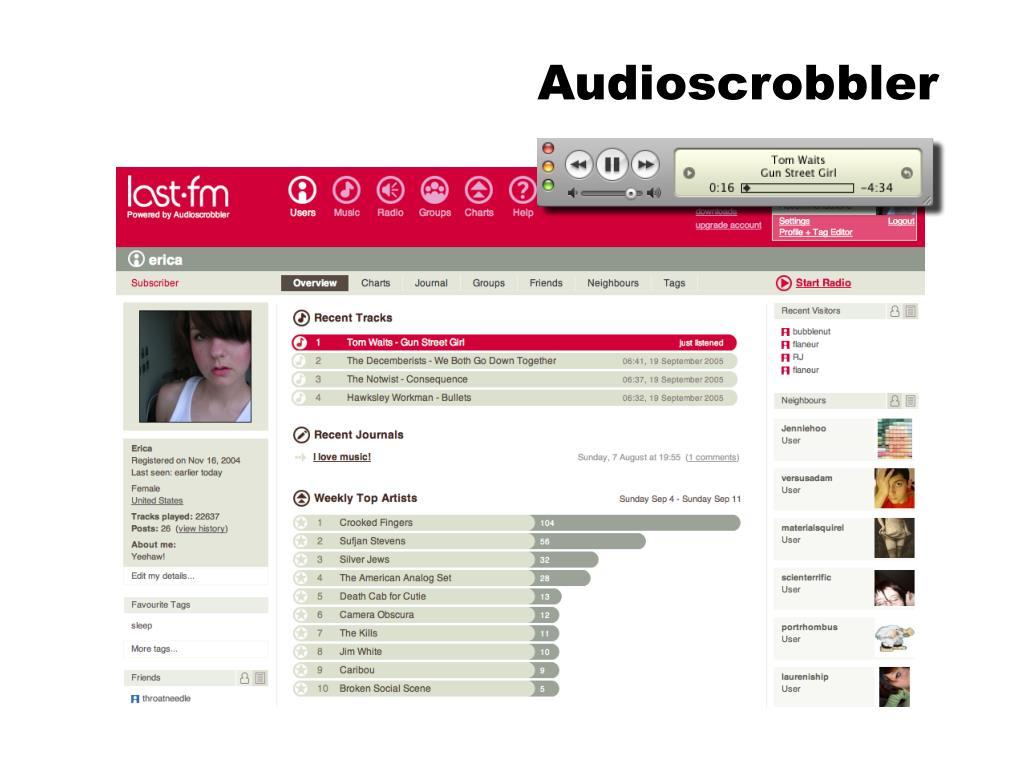Audioscrobbler
