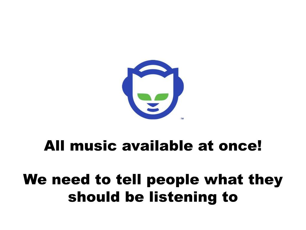 All music available at once!