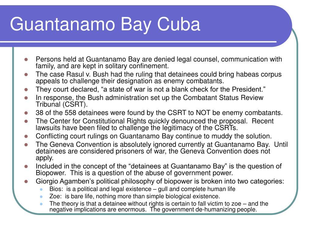 Guantanamo Bay Cuba