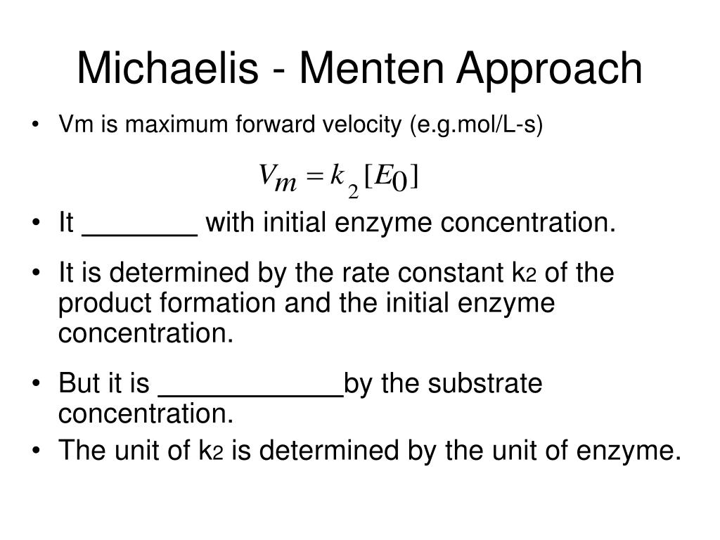 the prime contributors in the model of enzyme kinetics Activation energy: activation energy, in chemistry, the minimum amount of energy that is required to activate atoms or molecules to a condition in which they can.
