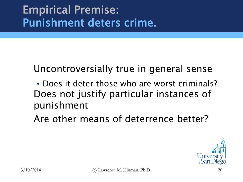Empirical Premise: