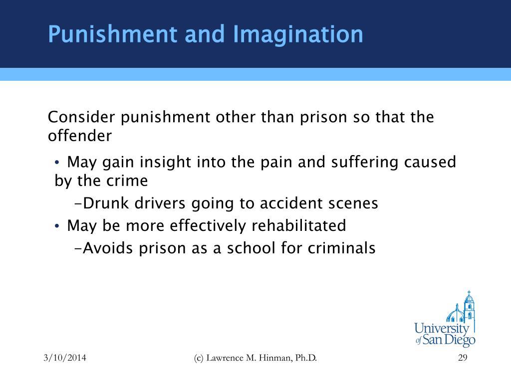 Punishment and Imagination