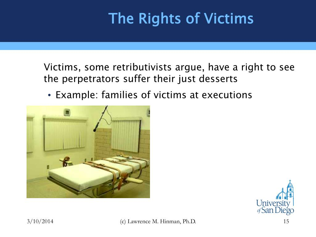 The Rights of Victims