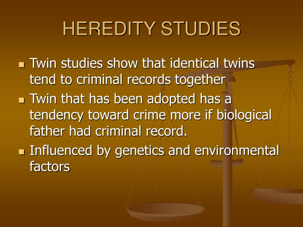 HEREDITY STUDIES