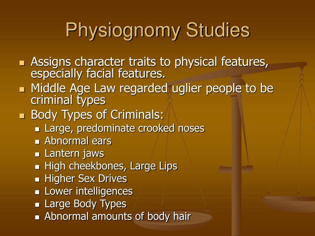 Physiognomy Studies