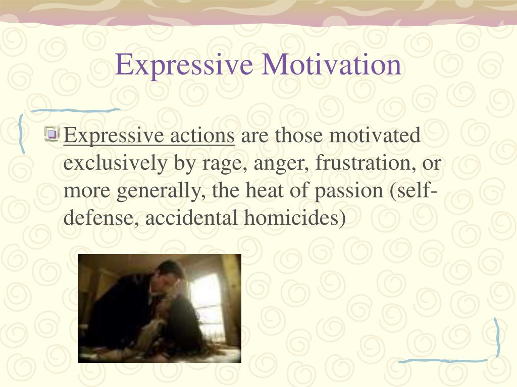 Expressive Motivation