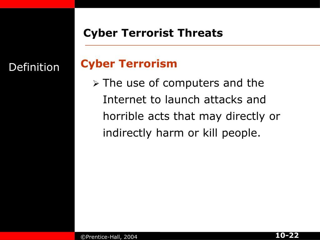 Cyber Terrorist Threats