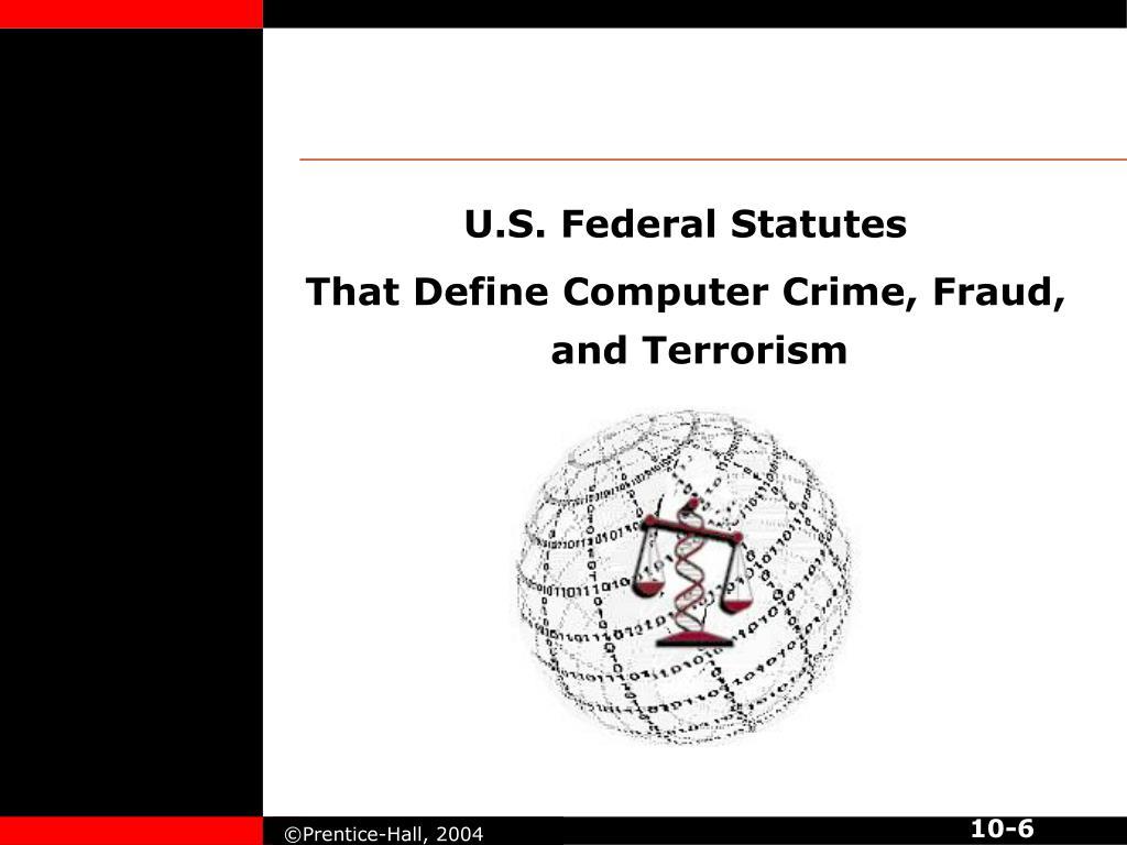 U.S. Federal Statutes