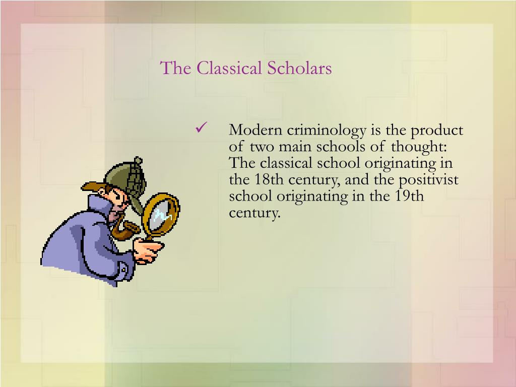 The Classical Scholars