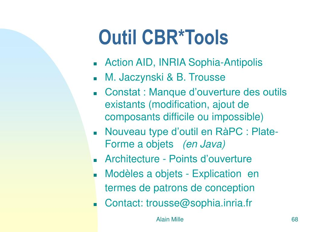 Outil CBR*Tools